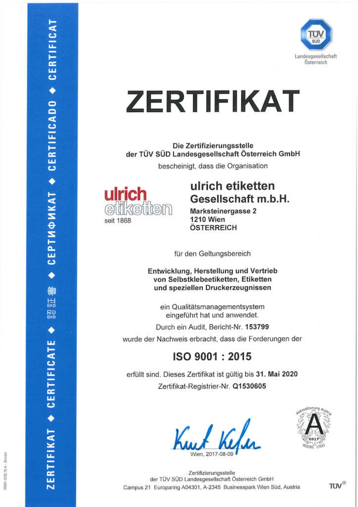 ISO9001-Certificate